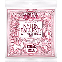 Ernie Ball 2409 Ernesto Palla Nylon Ball End Classical Acoustic Guitar Strings (P02409)