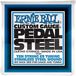 Ernie Ball 2504 10-String E9 Pedal Steel Guitar Strings (P02504)