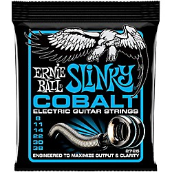 Ernie Ball 2725 Cobalt Extra Slinky Electric Guitar Strings (P02725)