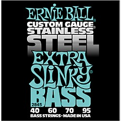 Ernie Ball 2845 Extra Slinky Stainless Steel Bass Strings (P02845)