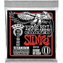 Ernie Ball 3115 Coated Electric STHB Slinky Guitar Strings (3115)