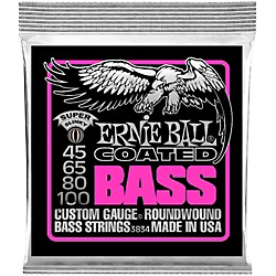 Ernie Ball 3834 Coated Bass Strings - Super Slinky (3834)