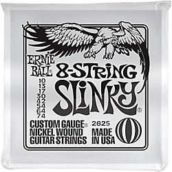 Ernie Ball 8-String Slinky Electric Guitar Strings 10-74 (2625)