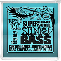 Ernie Ball Hybrid Slinky Bass Strings Super Long Scale (2849)