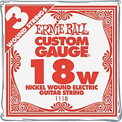 Ernie Ball Nickel Wound Single Guitar Strings 3-Pack (P00118)