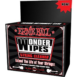 Ernie Ball Wonder Wipe String Cleaner 6-pack (P04277)