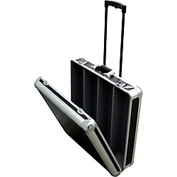 Eurolite CD-4RR 4-Row Rolling CD Case (CD-4RR/BLK)