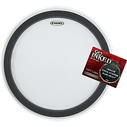 "Evans EMAD 2 Bass Drumhead Pack 22"" with INKED by Evans Gift Card (EMAD2-INKEDGC)"