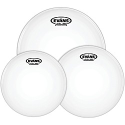 Evans G12 Coated White 10/12/14 Fusion Drumhead Pack (ETP-G12CTD-F)