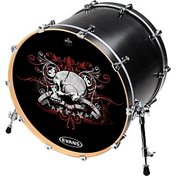 Evans Inked by Evans Alchemy Series Kick Drumhead (INK20ALCHSKL)