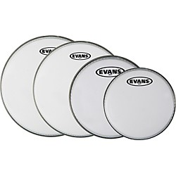 Evans MX White Tenor Drumhead 4-Pack (KIT - 430734)