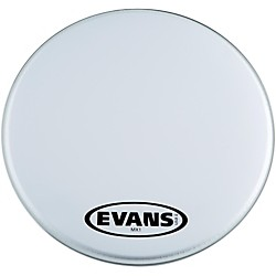Evans MX1 White Marching Bass Drum Head (BD16MX1W)
