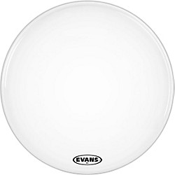 Evans MX2 White Marching Bass Head (BD16MX2W)