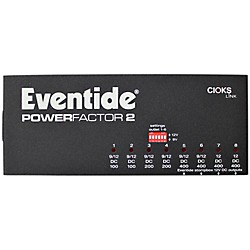 Eventide PowerFactor 2 Guitar Effects Pedal (1182-000-2)