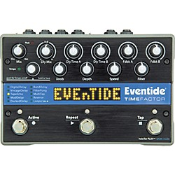 Eventide TimeFactor Twin Delay Guitar Effects Pedal (1143-011 USED)
