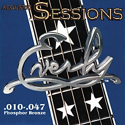 Everly 7210 Acoustic Sessions Phosphor/Bronze Extra Light Acoustic Guitar Strings (7210)