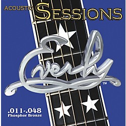 Everly 7211 Acoustic Sessions Phosphor/Bronze Light Acoustic Guitar Strings (7211)