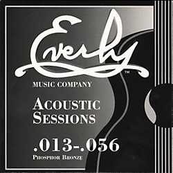 Everly 7213 Acoustic Sessions Phosphor/Bronze Heavy Acoustic Guitar Strings (7213)