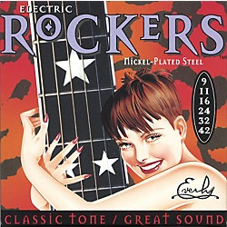 Everly 9009 Electric Rockers Nickel Light Electric Guitar Strings (9009)