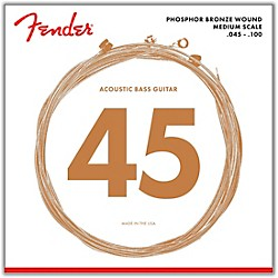 FENDER 7060 Phospor Bronze Acoustic Bass Strings (0737060400)