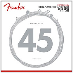 FENDER 8250-5M Nickel-Plated Steel Taperwound 5-String Bass Strings - Medium (0738250456)