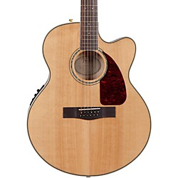 FENDER CJ290SCE-12 Flame Maple Jumbo 12-String Acoustic-Electric Guitar (0961561021)