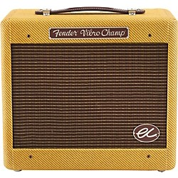 FENDER Eric Clapton EC Signature Vibro-Champ  5W 1x8 Hand-Wired Tube Guitar Combo Amp (OLD-8161500000)