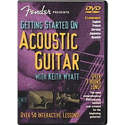 FENDER Getting Started On Acoustic Guitar DVD (320294)