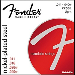 FENDER Nickel-Plated Steel Mandolin Strings - Light (0732250403)