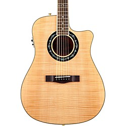 FENDER T-Bucket 400 CE Flamed Maple Acoustic-Electric Guitar (0968076021)