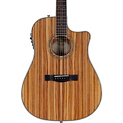 FENDER Zebrano Acoustic-Electric Guitar (0961504021)