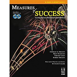 FJH Music Measures of Success Bass Clarinet Book 2 (BB210BCL)