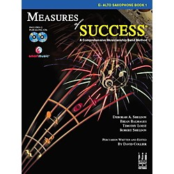 FJH Music Measures of Success E-flat Alto Saxophone Book 1 (BB208ASX)
