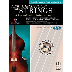 FJH Music New Directions For Strings, Double Bass D Position Book 1 (SB303DBD)