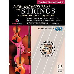 FJH Music New Directions For Strings, Teacher's Manual Book 2 (SB304TM)