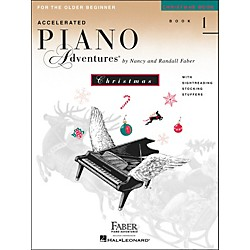 Faber Music Accelerated Piano Adventures Christmas Book 1 For The older Beginner - Faber Piano (420230)