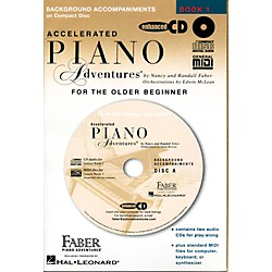 Faber Music Accelerated Piano Adventures For The Older Beginner CD - Faber Piano (420083)