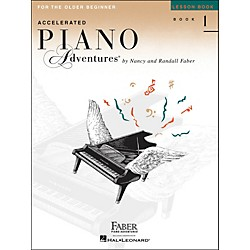 Faber Music Accelerated Piano Adventures Lesson Book - Book 1 For The Older Beginner (420227)