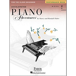 Faber Music Accelerated Piano Adventures Performance Book 2 - Faber Piano (420232)