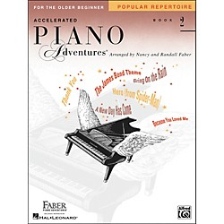 Faber Music Accelerated Piano Adventures Pop Repertoire Book 2 - Faber Piano (420254)