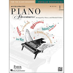 Faber Music Accelerated Piano Adventures Pop Repertoire Book1 - Faber Piano (420252)