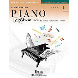 Faber Music Accelerated Piano Adventures Sightreading Book 1 (123496)
