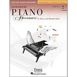 Faber Music Accelerated Piano Adventures Technique & Artistry Book 2 For The Older Beginner - Faber Piano (420265)