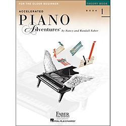 Faber Music Accelerated Piano Adventures Theory Book 1 For The Older Beginner (420228)