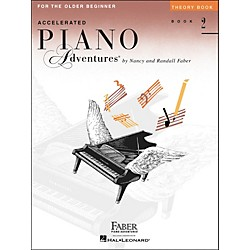 Faber Music Accelerated Piano Adventures Theory Book For The Older Beginner Book 2 - Faber Piano (420253)