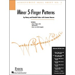 Faber Music Achievement Skill Sheet No.2: Minor 5-Finger Patterns - Faber Piano (420023)