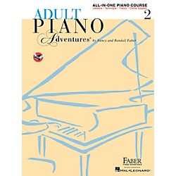 Faber Music Adult Piano Adventures All-In-One Lesson Book 2 - Faber Piano (420246)