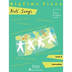Faber Music BigTime Piano Kids' Songs Faber Piano Adventures Series (420325)