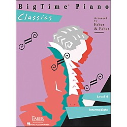 Faber Music Bigtime Piano Classics Level 4 Intermediate - Faber Piano (420140)