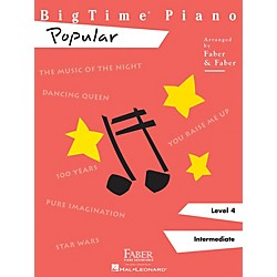 Faber Music Bigtime Piano Level 4 Popular - Faber Piano Adventures Series (420118)